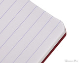 Clairefontaine Basic Staplebound Duo - 3.5 x 5.5, Lined Paper - Red and Green - Ruling