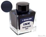 Sailor Jentle Blue Black Ink (50ml Bottle)