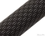 Faber-Castell Ambition Ballpoint - Black Sand Op Art - Pattern