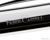 Faber-Castell Ambition Ballpoint - Black Sand Op Art - Imprint