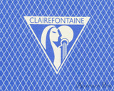 Clairefontaine 1951 Staplebound Notebook - 5.75 x 8.25, Lined - Blue logo