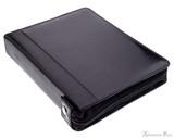Girologio 24 Pen Case - Black Leather