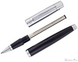 Sheaffer 300 Rollerball - Black with Chrome Cap - Parted Out