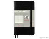 Leuchtturm1917 Softcover Notebook - A6, Lined - Black