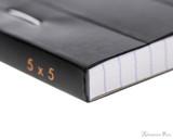 Rhodia No. 16 Staplebound Notepad - A5, Graph - Black binding detail