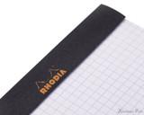 Rhodia No. 16 Staplebound Notepad - A5, Graph - Black perforations