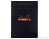 Rhodia No. 16 Staplebound Notepad - A5, Graph - Black