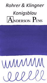 Rohrer & Klingner Konigsblau Ink Color Swab