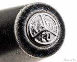 Kaweco AL Sport Fountain Pen - Stonewashed Black - Cap Jewel