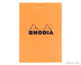 Rhodia No. 12 Staplebound Notepad - 3.375 x 4.75, Graph - Orange