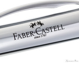 Faber-Castell Essentio Pencil Polished Silver Grip - Imprint