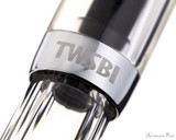 TWSBI Mini Fountain Pen - Clear - Cap Band