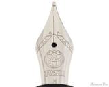 TWSBI 580AL Fountain Pen - Silver - Nib Closeup