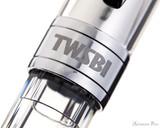 TWSBI 580AL Fountain Pen - Silver - Cap Band