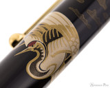 Namiki Nippon Art Fountain Pen - Crane and Turtle - Pattern 1