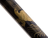 Namiki Nippon Art Fountain Pen - Crane and Turtle - Pattern 2