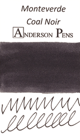 Monteverde Coal Noir Ink Sample (3ml Vial)