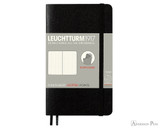 Leuchtturm1917 Softcover Notebook - A6, Dot Grid - Black