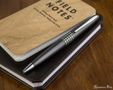 Pilot Metropolitan Ballpoint - Retro Pop Gray - On Notebook