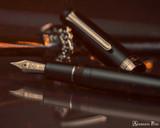 Sailor Pro Gear Fountain Pen - Imperial Black - Open Beauty