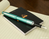 Pilot Metropolitan Fountain Pen - Retro Pop Turquoise - Posted on Notebook