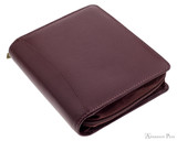 Girologio 12 Pen Case - Brown Leather