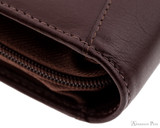 Girologio 12 Pen Case - Brown Leather - Stitching