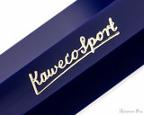 Kaweco Classic Sport Fountain Pen - Blue - Imprint