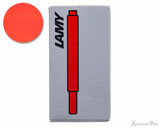 Lamy Red Ink Cartridges (5 Pack)