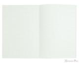APICA Premium CD Notebook - A5, Graph - Red open