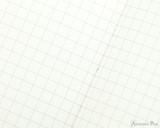 APICA Premium CD Notebook - A5, Graph - Red closeup