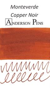 Monteverde Copper Noir Ink Sample (3ml Vial)