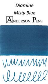 Diamine Misty Blue Ink Sample (3ml Vial)