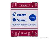 Pilot Namiki Blue Ink Cartridges (12 Pack)