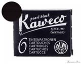 Kaweco Pearl Black Ink Cartridges (6 Pack)