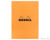 Rhodia No. 16 Staplebound Notepad - A5, Graph - Orange