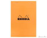 Rhodia No. 16 Staplebound Notepad - A5, Graph - Orange