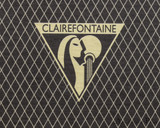 Clairefontaine 1951 Staplebound Notebook - 5.75 x 8.25, Lined - Black logo