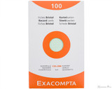 Exacompta Index Cards - 5 x 8, Graph - Assorted Colors