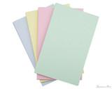 Exacompta Index Cards - 5 x 8, Graph - Assorted Colors 4 color set