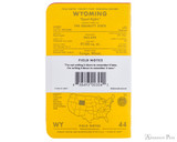 Field Notes Notebooks - County Fair, Wyoming (3 Pack) - Back