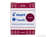 Pilot Namiki Purple Ink Cartridges (6 Pack)