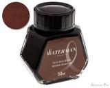Waterman Absolute Brown Ink (50ml Bottle)