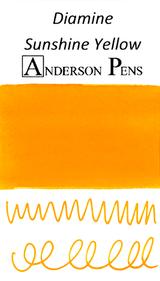Diamine Sunshine Yellow Ink Sample (3ml Vial)