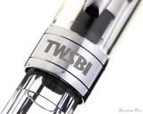 TWSBI Diamond 580 Fountain Pen - Clear - Cap Band 1