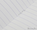 Clairefontaine 1951 Staplebound Notebook - 5.75 x 8.25, Lined - Raspberry lines detail