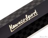 Kaweco Classic Sport Fountain Pen - Black Chess Print - Imprint