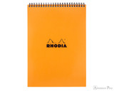 Rhodia No. 18 Wirebound Notepad - A4, Lined - Orange
