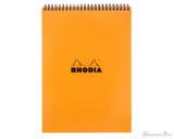 Rhodia No. 18 Wirebound Notepad - A4, Lined - Orange
