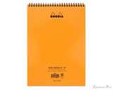 Rhodia No. 18 Wirebound Notepad - A4, Lined - Orange - Back Cover